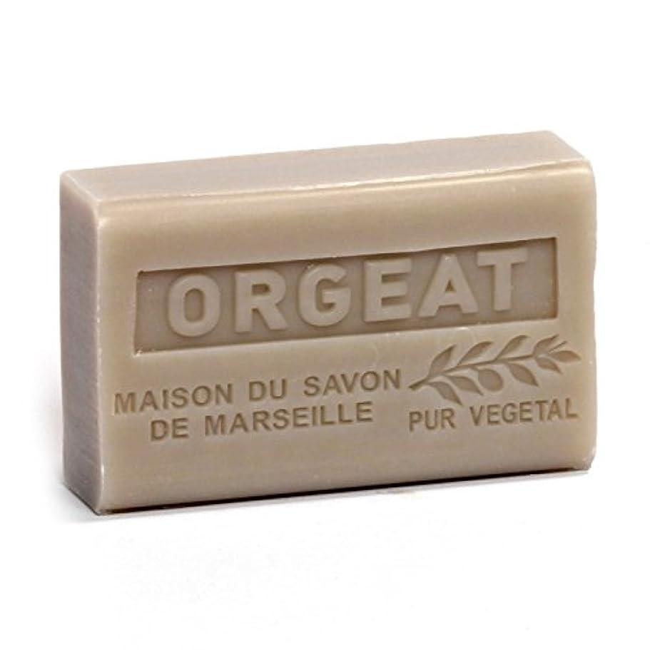 薄暗い土器目に見えるSavon de Marseille Soap Orgeat Shea Butter 125g