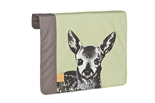 LÄSSIG Wechselklappe für Casual Messenger Bag Klettverschluss Reißverschluss/Casual Frontcover, Solid