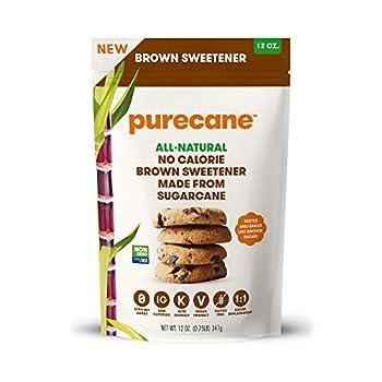 Purecane Sugar Substitute Brown Sweetener 12oz