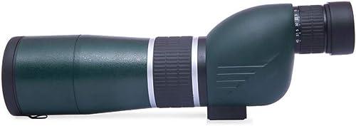 PIGE 15-45  60mm Spotting Scope avec Trépied, 60mm grand Objectif Objectif Faible Niveau De Lumière Vision Nocturne HD Haute Définition, pour Cible De Tir