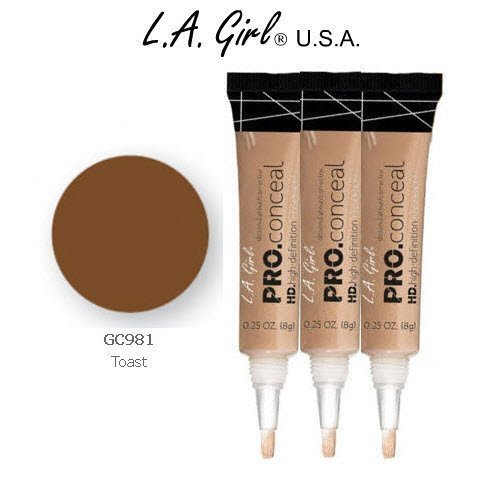 L.A. Girl Pro Conceal HD 981 Toast (6 Pack) by L.A. Girl