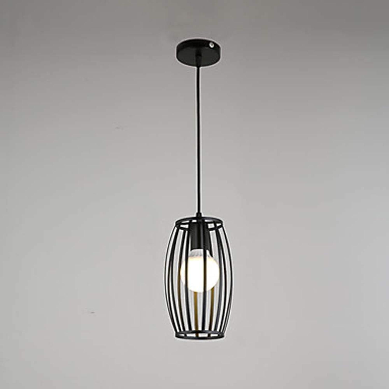 AmzGxp LED Schwarze Schmiedeeiserne Sule Lampe Metall Kronleuchter Beleuchtung Lampen 40W