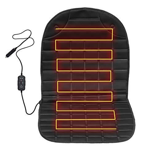 Auto Sitzheizung Heizkissen mit Temperatur Kontrolleu, Universal Auto Heizauflage 12V Auto beheizbare sitzauflage