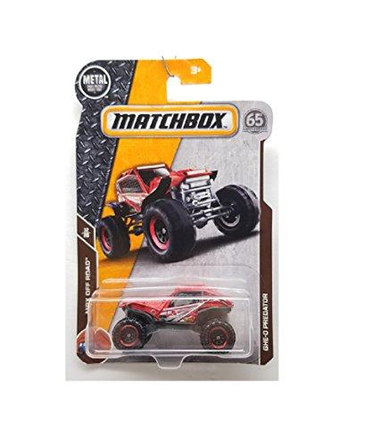 Matchbox Red GHE-O Predator 1/64 Scale Diecast 4x4 Vehicle 103/125 MBX Off Road 12/20