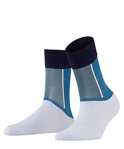 FALKE Damen Socken Soft Study - Baumwollmischung, 1 Paar, Blau (Powder Blue 6248), Größe: 39-42