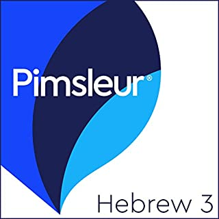 Pimsleur Hebrew Level 3 audiobook cover art