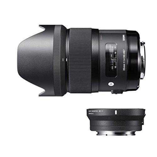 Sigma @ZH954 Kit Sigma 35mm F1.4 DG HSM A + Conversor MC-11 para Canon Negro