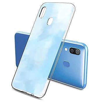 Oihxse Clair Case pour Samsung Galaxy A5 2018/A8 2018 Coque Ultra Mince Transparent Souple TPU Gel Silicone Protecteur Housse Mignon Motif Dessin Anti-Choc Étui Bumper Cover (A8)