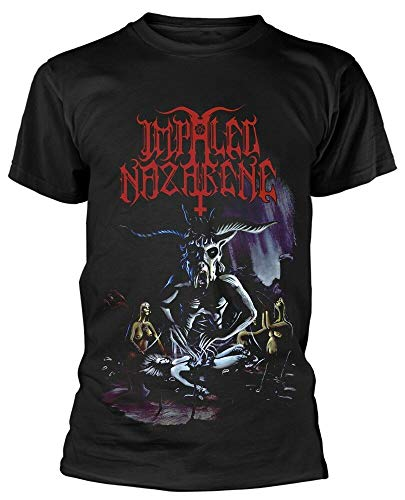 Impaled Nazarene Tol Cormpt Norz Norz Norz T-Shirt Printed tee Graphic Top For Men Shirt Black XL