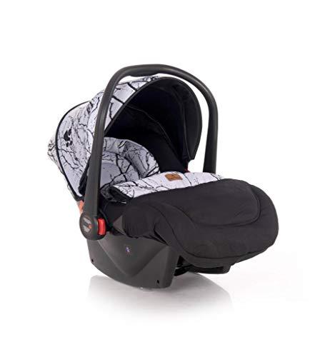 Lorelli silla de coche bebés Plutón grupo 0+ (0-13 kg) cubierta para los pies, color:gris