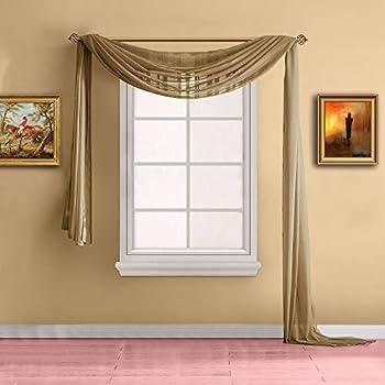 Best 288 inch window scarf Reviews