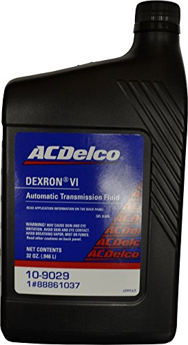 ACDelco ATF DEXRON VI 6 Transmission Fluid 32 oz 88861037 (CASE 12) 10-9029