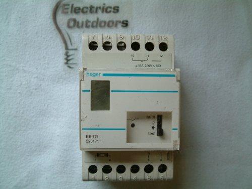 Hager EE171 - Interruptor crepuscular +celula superficie +interruptor horario semanal