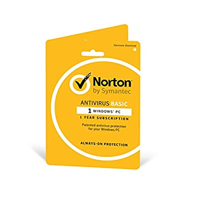 Norton Security Basic 2019 | 1 Device | 1 Year | Antivirus| PC | Activation Code by Post