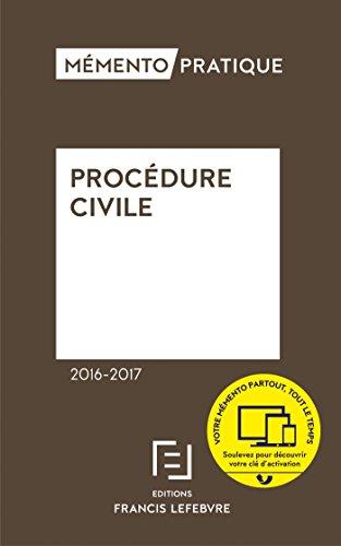 Memento procédure civile 2016-2017