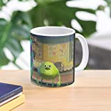 5TheWay Face Meme Wazowski Mike Sully And Swap Mug - Tazza da caffè 11 oz miglior Regalo…
