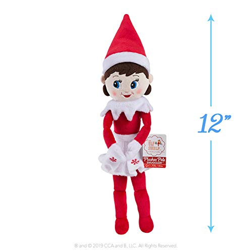 Elf On The Shelf The Plushee Pal Snuggler-Girl | | Elfo su Uno scaffale Accessori, Idee e Oggetti di Natale per Bambini e Adulti
