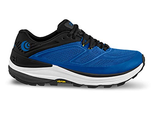 Topo Athletic Ultraventure 2 Comfortable Lightweight 5mm Drop, Athletic Shoes for Trail Running, Corredores de Sendero Hombre, Azul grisáceo, 12 UK