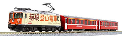 KATO Nゲージ Ge4/4-II 箱根登山電車 +EWI客車 3両セット 【特別企画品】 10-1514 鉄道模型 電車