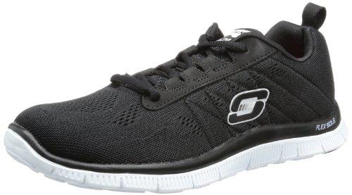 Skechers Damen Flex AppealSweet Spot Sneakers, Schwarz (BKW), 37 EU