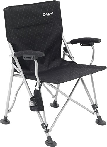 Outwell Campo Campingstuhl, Black, 61 x 61 x 89 cm