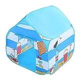 XJRS Kinder Zelte Indoor Spielhäuser, Kinder Teepee mit Fenstern, einfach zu montieren, leicht Fit...