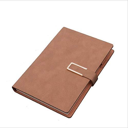 Tianneng High-End-Tagebuch Notizblock Kreative A5 Notebook Set B5 Business Notebook Schaffell Cover Notebook 14 *...
