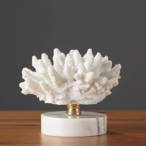 Coral Ornaments Mediterrane Moderne Einrichtungsgegenstände für Inneneinrichtung A ++ (Size : D)