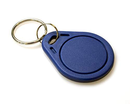 1 x RFID Chip Keyfobs Token EM 4102 125KHZ Schlüsselanhänger Transponder Keytag Zugangskontrolle