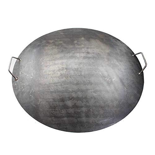 Deckel für Feuerschale Feuerkorb 80 cm mit 2 Griffen
