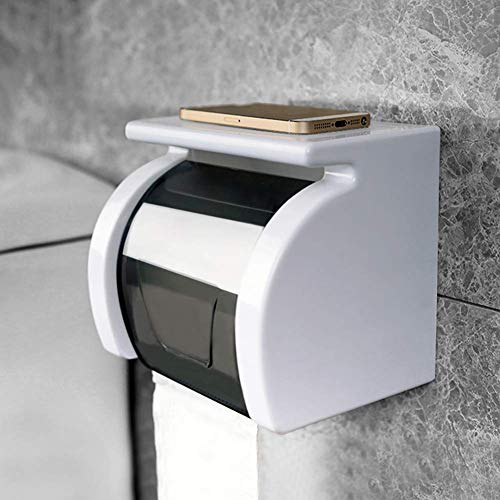 WTT Toiletpapier box Punch Free Wall-Mounted rolhouder creatieve Free Nail Waterproof Badkamer