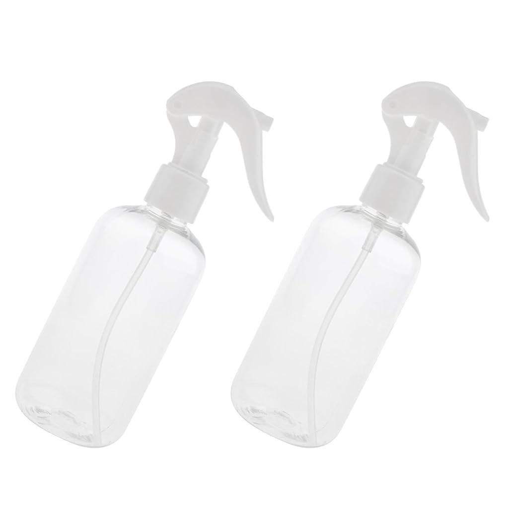 配置オフェンスインシュレータCUTICATE 化粧品ボトル 香水アトマイザー ミストスプレーボトル 250ml 詰め替え容器 ヘアサロン 自宅用 全4色 - ホワイトキャップ