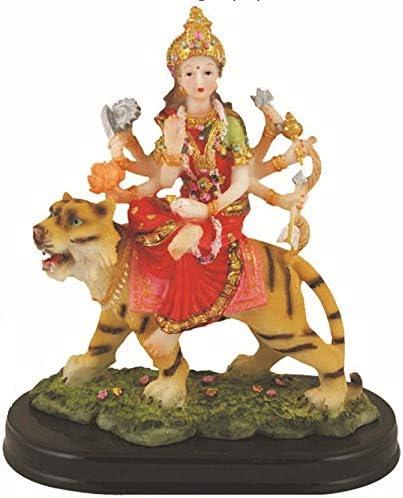 Global Desi Durga Statue Murti 新品 Idol 7