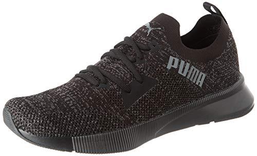 PUMA Flyer Runner Engineered Knit Herren Laufschuhe Puma Black-Asphalt UK 6_Adults_FR 39