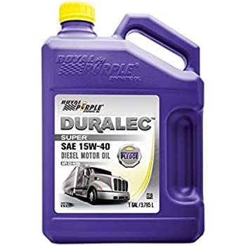 Royal Purple 04154 / 300905 Duralec Super 15W40 CK-4 Motor Oil Synthetic - 1 gal. (Case of 3)