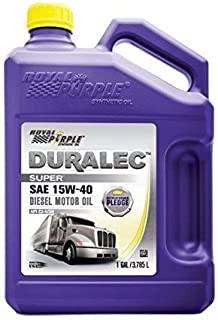 Royal Purple 04154 API-Licensed SAE 15W-40 High Performance Synthetic Motor Oil -