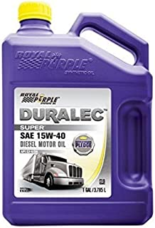 Royal Purple 04154 / 300905 Duralec Super 15W40 CK-4 Motor Oil Synthetic - 1