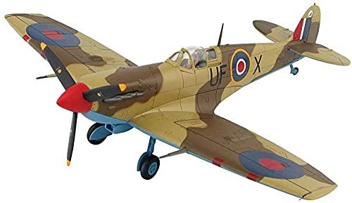 N-T Fighter 3D Jigaw Puzzles Kits de Modelos de plásticoEscala 1/32 Reino Unido Spitfire MK VB Modelo de CombateJuguetes y Decoraciones paraAdultos 12 Pulgadas X 15 Pulgadas