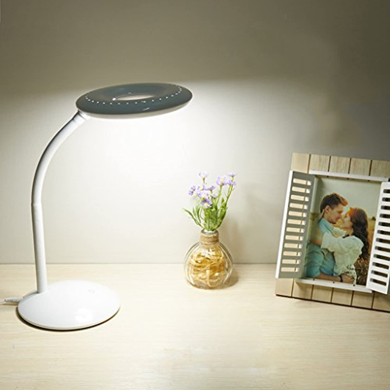 Die Kinder, Die Geführtes Kreatives Geschenk Der Augenschutztischlampe Lernten, Führten Notentischlampenschlafzimmerbett-Lesetischlampe