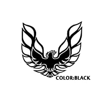 カッティングステッカー FIREBIRDトランザム Color:ブラック [並行輸入品]