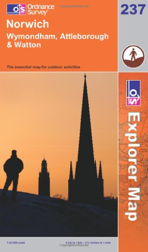 OS Explorer map 237 : Norwich