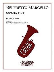 Sonata I in F: for Tuba and Piano