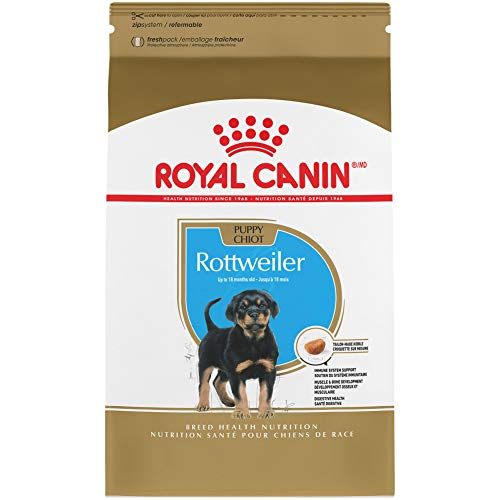 Royal Canin Rottweiler Puppy Breed Specific Dry Dog Food, 30 lb. bag