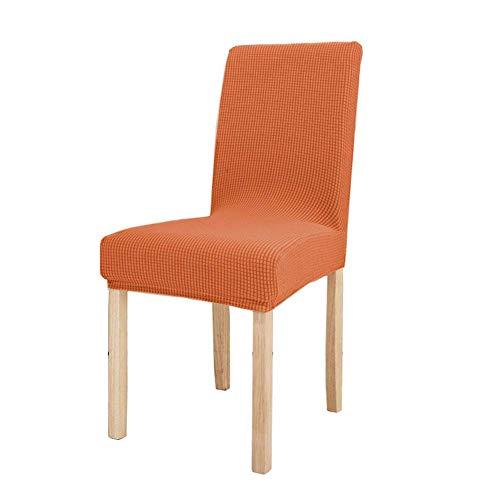 LYY Funda elástica para silla de protección, extraíble y lavable, banda elástica en la parte inferior universal en todas las estaciones