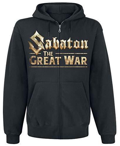 Sabaton The Great War Männer Kapuzenjacke schwarz M 80% Baumwolle, 20% Polyester Band-Merch, Bands
