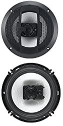 BOSS Audio R63 300 Watt (Per Pair), 6.5 Inch, Full Range, 3 Way Car Speakers