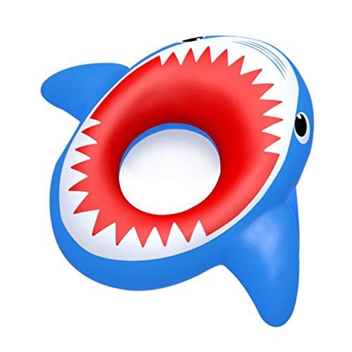 Garneck Aufblasbare Pool Float Shark Form Schwimmen Ring Pool Liege Pool Hängematte Schwimmen Schwimm Pad Tragbare Schwimmen Matte für Männer Frauen