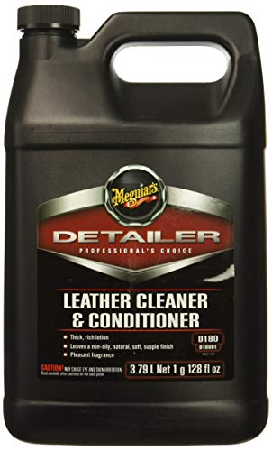 MEGUIARS D18001 Leather Cleaner & Conditioner-Gallon