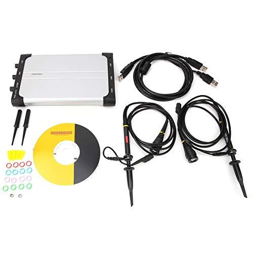 Owon VDS2062 60MHz 2 canales 1 GSa/s Osciloscopio USB virtual 781g/27,54 oz