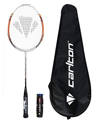 Carlton Powerblade Tour Badmintonschläger + 6 Federbälle